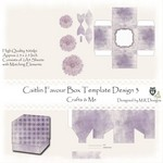 *New* Caitlin Digital Printable Favour Box Design 3